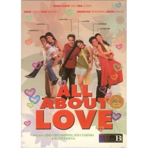 2006 ALL ABOUT LOVE FILIPINO DVD JOHN LLOYD BEA ALONZO