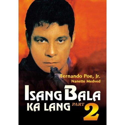 ISANG BALA KA LANG PART 2 Filipino DVD FERNANDO POE JR