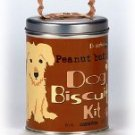 Dog Biscut Kit  All Natural Treat Mix Canister Chicken 8oz