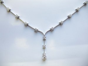 Delicate Diamond Necklace