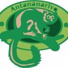 Antananarivo Passport Style Wall Graphic