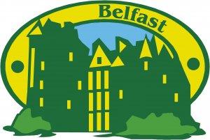 Belfast Passport Style Wall Graphic