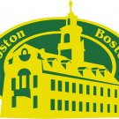 Boston Passport Style Wall Graphic