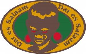Dar es Salaam Passport Style Wall Graphic