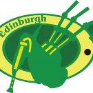 Edinburgh Passport Style Wall Graphic