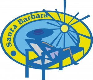 Santa Barbara Passport Style Wall Graphic