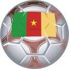 Cameroon Soccer Ball Flag Wall Decal