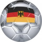 Germany Soccer Ball Flag Wall Decal