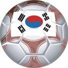 Korea Soccer Ball Flag Wall Decal