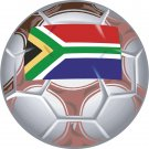 South Africa Soccer Ball Flag Wall Decal