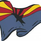 Arizona State Flag Wall Decal