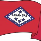 Arkansas State Flag Wall Decal