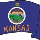 Kansas State Flag Wall Decal