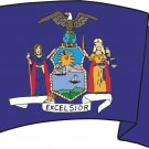 New York State Flag Wall Decal