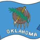 Oklahoma State Flag Wall Decal