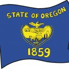 Oregon State Flag Wall Decal