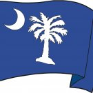 South Carolina State Flag Wall Decal