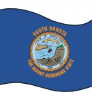 South Dakota State Flag Wall Decal
