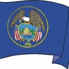 Utah State Flag Wall Decal