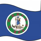 Virginia State Flag Wall Decal