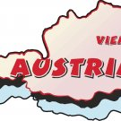 Austria Country Map Wall Decal