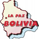 Bolivia Country Map Wall Decal