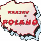 Poland Country Map Wall Decal