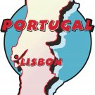Portugal Country Map Wall Decal