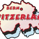 Switzerland Country Map Wall Decal