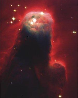 Cone Nebula Hubble Image on Canvas