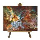 Carina Nebula Hubble Image on Canvas