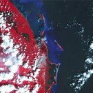 Cancun Earth As Art on Canvas