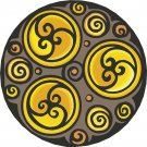 Abstract Circles #2 Pattern Wall Decal