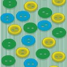 Buttons Pattern Wall Decal