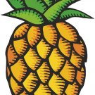 Pineapple Fruit Pattern Wall Decal