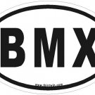 BMX Oval Car Sticker