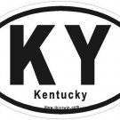 Kentucky Oval Car Sticker
