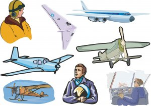 Airplane Wall Decal Assortment Packs