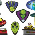 Alien Wall Decal Assortment Packs