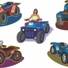 ATV All Terrain Vehicle Wall Decal Assortment Packs