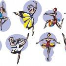 Ballet Artistic Wall Decal Assortment Packs