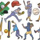 Baseball Wall Decal Assortment Packs