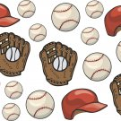 Baseballs and Gloves Wall Decal Assortment Packs
