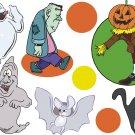 Halloween Cartoon Wall Decal Assortment Packs