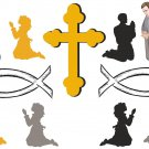 Catholic Wall Decal Assortment Packs