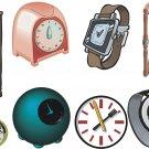Clocks Wall Decal Assortment Packs