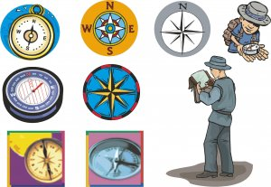 Compass Wall Decal Assortment Packs