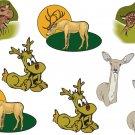 Deer Wall Decal Assortment Packs