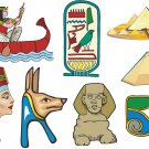 Egyptian Wall Decal Assortment Packs