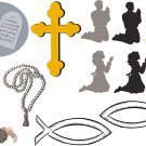 Faith Wall Decal Assortment Packs